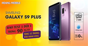 Samsung Galaxy S9 Plus 98% xách tay Hàn Quốc