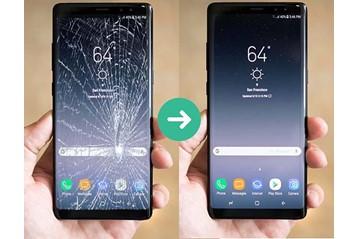 Thay kính - ép kính Galaxy Note 9 Chính Hãng